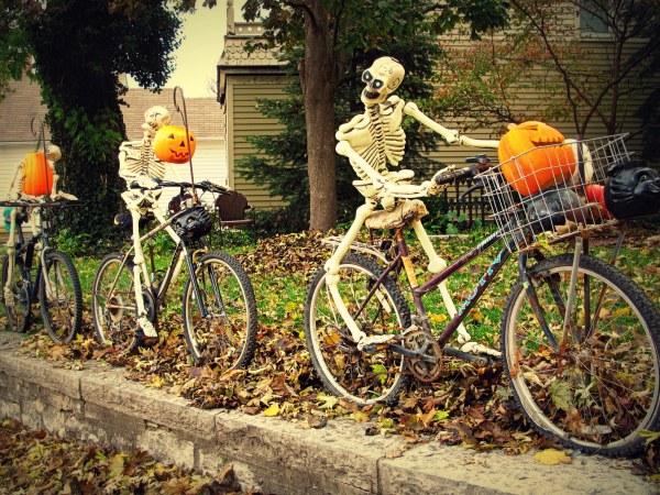Happy Halloween Jim' Bike