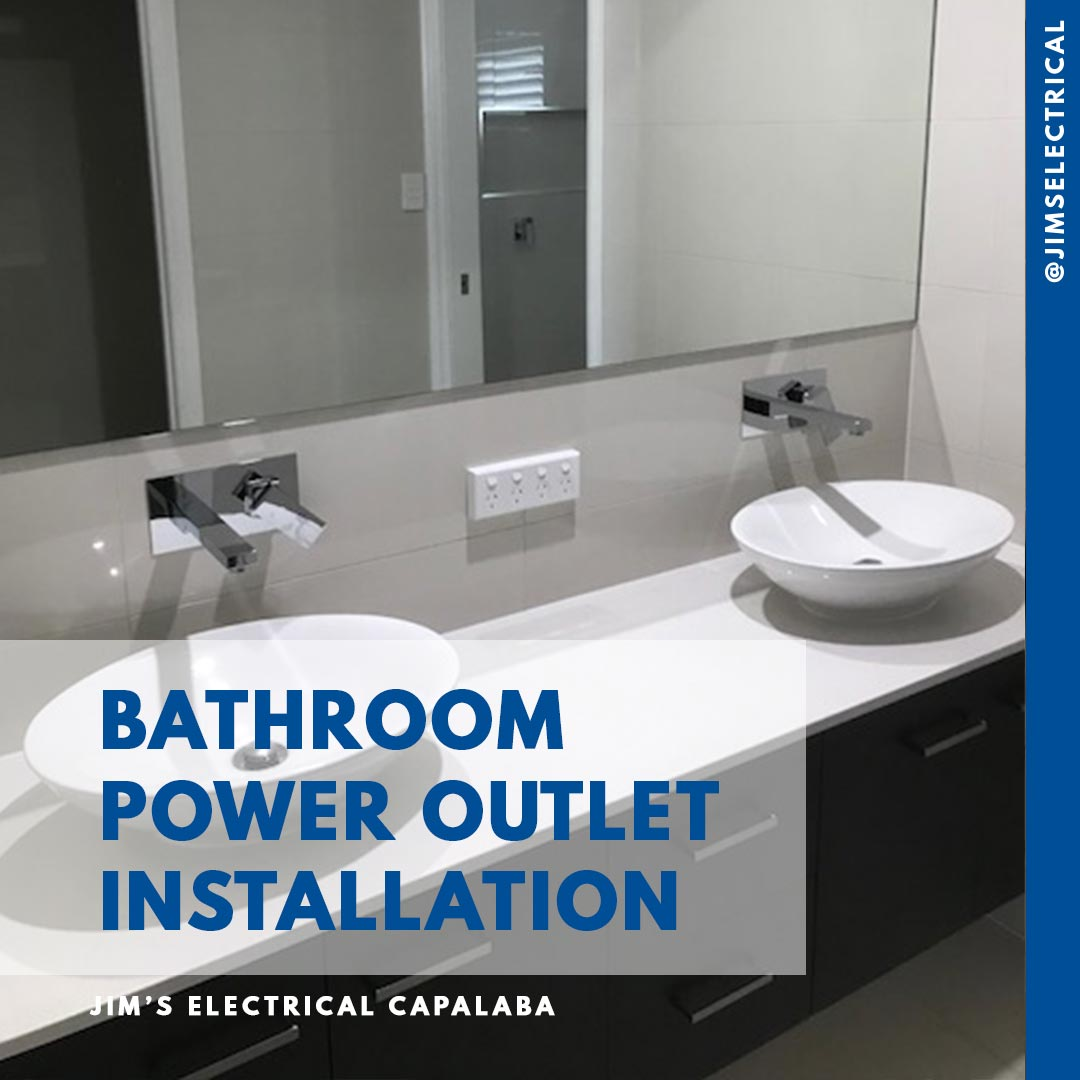 Bathroom Electrical Outlet Bathroom Power Outlet Installation