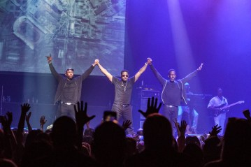 Boyz II Men @ Club Nokia, Los Angeles. 2015.
