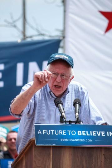 Bernie Sanders @ East LA rally.
