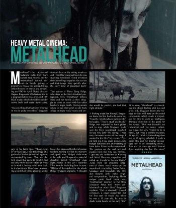 Film Spotlight: Metalhead. Issue 17
