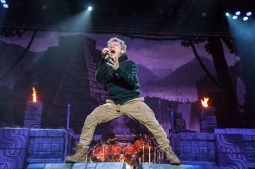 Iron Maiden @ The Forum, Los Angeles. 2016