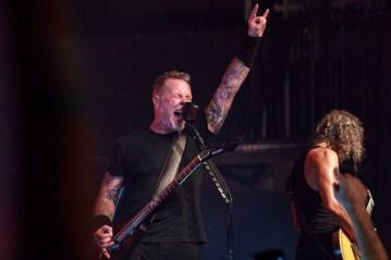 Metallica @ The Fonda Theatre, Hollywood. 2016.