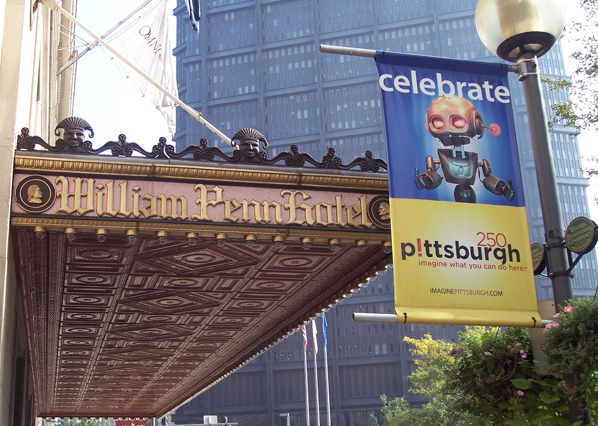 Celebrate Pittsburgh Banner