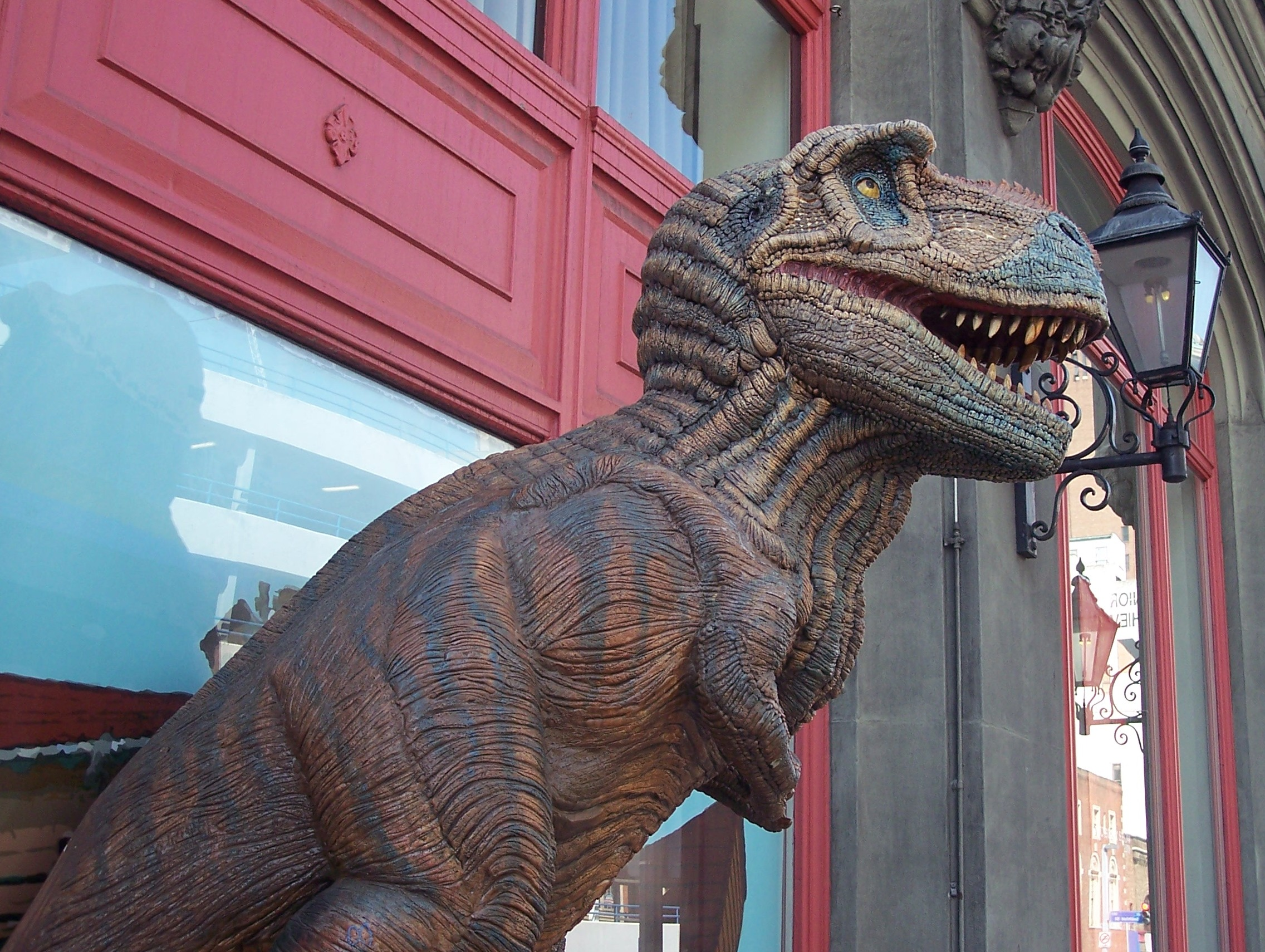 Dino in Chinatown