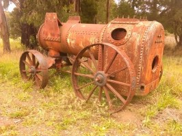 Old machinery at Dinmont