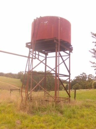 Dinmont water tank today