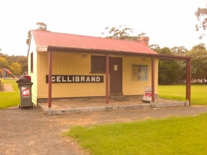 Gellibrand station building