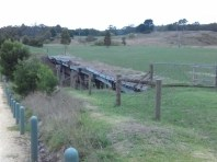 Old trestle bridge