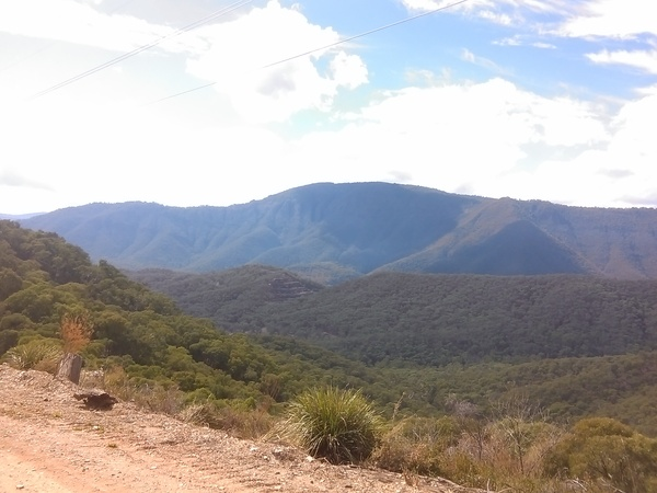 View from Powerline Track