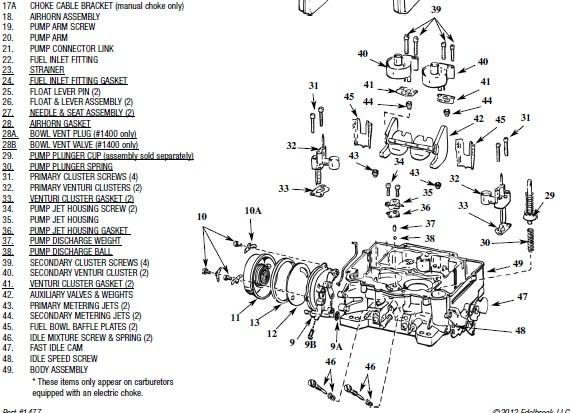 Diagrams Wiring : Vacuum Diagram Of Carter Carburetor