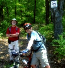 Jim-Schmid-with-Tom-Daniels-Yellow-River-Florida-Trail-Association-Panhandle-Trace-Hike-2011