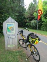 Jim-Schmid's-Bacchetta-Giro-recumbent-mile-0-Silver-Comet-Trail-GA-2015-5-11-to-14