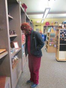 Sandra-Schmid-shopping-at-Chimney-Rock-State-Park-NC-2016-01-01_