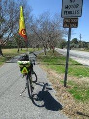 Jim-Schmid's-Bacchetta-Giro-recumbent-on-Kermit-Sigmon-Trail-Gainesville-FL-02-18-2016