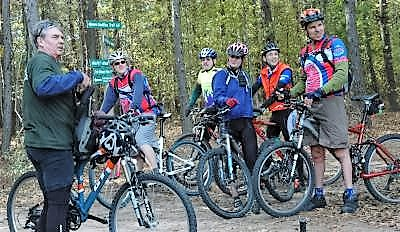 Chuck-Goodheart-and-Jim-Schmid-IMBA-Trailbuilding-School-Tallahassee-FL-Dec-8-10-2006