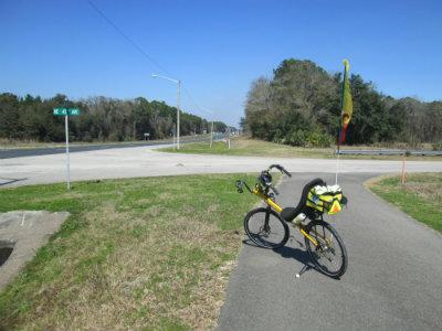 Jim-Schmid's-Bacchetta-Giro-recumbent-at-north-end-of-Waldo-Road-Greenway-Gainesville-FL-02-18-2016