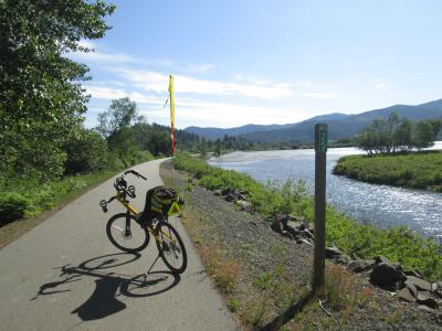 Jim-Schmid's-Bacchetta-Giro-recumbent-at-Milepost-25-Trail-of-the-Coeur-d'Alenes-ID-5-13-2016