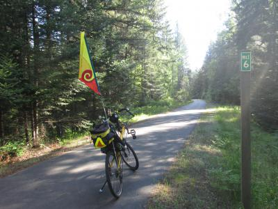Jim-Schmid's-Bacchetta-Giro-recumbent-at-Milepost-6-Trail-of-the-Coeur-d'Alenes-ID-5-12-2016