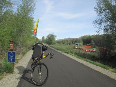 Jim-Schmid's-Bacchetta-Giro-recumbent-at-milepost-5-Wood-River-Trail-Ketchum-to-Bellevue-ID-5-5-2016