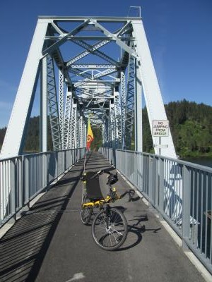 Jim-Schmid's-Bacchetta-Giro-recumbent-on-Chatcolet-Bridge-Trail-of-the-Coeur-d'Alenes-ID-5-12-2016