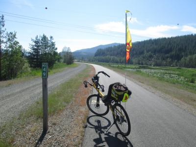 Jim-Schmid's-Bacchetta-Giro-recumbent-at-Milepost-49-Trail-of-the-Coeur-d'Alenes-ID-5-14-2016