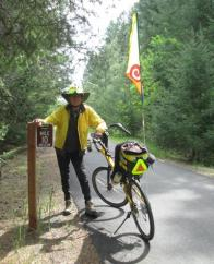 Jim-Schmid-with-Bacchetta-Giro-recumbent-on-Latah-Trail-Moscow-to-Troy-ID-5-9-2016