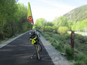 Jim-Schmid's-Bacchetta-Giro-recumbent-at-milepost-7-Wood-River-Trail-Ketchum-to-Bellevue-ID-5-5-2016