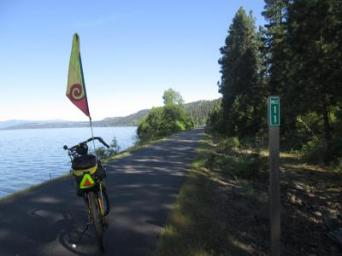 Jim-Schmid's-Bacchetta-Giro-recumbent-at-Milepost-11-Trail-of-the-Coeur-d'Alenes-ID-5-12-2016