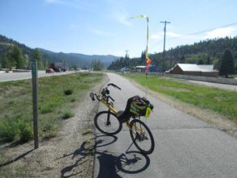 Jim-Schmid's-Bacchetta-Giro-recumbent-at-Milepost-51-Trail-of-the-Coeur-d'Alenes-ID-5-14-2016