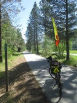 Jim-Schmid's-Bacchetta-Giro-recumbent-at-Milepost-37-Trail-of-the-Coeur-d'Alenes-ID-5-13-2016