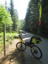 Jim-Schmid's-Bacchetta-Giro-recumbent-at-Milepost-38-Trail-of-the-Coeur-d'Alenes-ID-5-13-2016