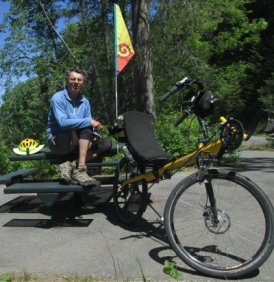 Jim-Schmid-with-Bacchetta-Giro-recumbent-at-Milepost-41-Trail-of-the-Coeur-d'Alenes-ID-5-13-2016