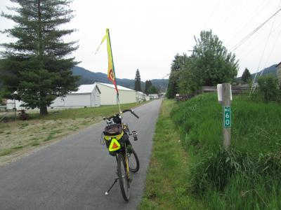 Jim-Schmid's-Bacchetta-Giro-recumbent-at-Milepost-60-Trail-of-the-Coeur-d'Alenes-ID-5-14-2016