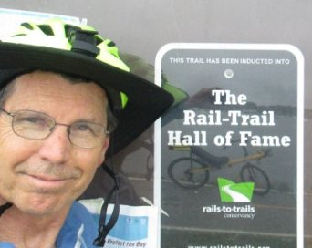 Jim-Schmid-next-to-Rail-Trail-Hall-of-Fame-sign--East-Bay-Bike-Path-RI-9-6&7-2016