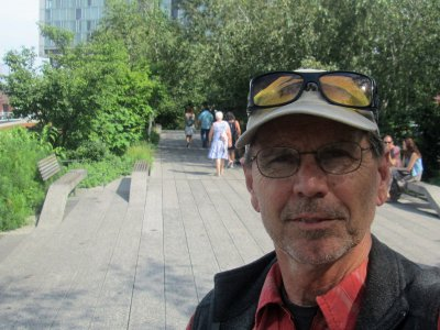 Jim-Schmid-on-High-Line-Trail-New-York-City-8-31-2016