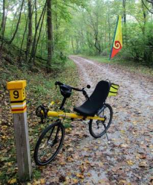 Jim-Schmid's-Bacchetta-Giro-recumbent-at-MP-9-Torrey-C-Brown-Rail-Trail-MD-10-4-2016