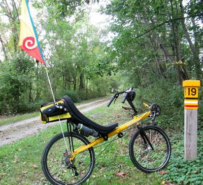 Jim-Schmid's-Bacchetta-Giro-recumbent-at-MP-19-Torrey-C-Brown-Rail-Trail-MD-10-4-2016
