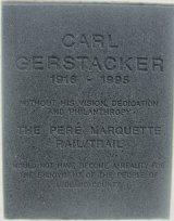 Carl-Gerstacker-thank-you-plaque-Pere-Marquette-MI-2015-09-06
