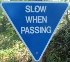 Slow-when-passing-sign-W&OD-Rail-Trail-VA-2015-10-6&7