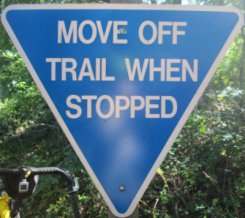 Move-off-trail-when-stopped-sign-W&OD-Rail-Trail-VA-2015-10-6&7