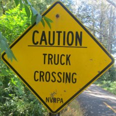 Caution-truck-crossing-sign-W&OD-Rail-Trail-VA-2015-10-6&7