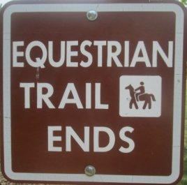 Equestrian-Trail-ends-sign-Pere-Marquette-MI-2015_09-06