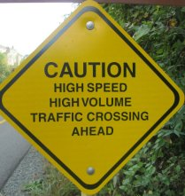 Caution-high-speed-volume-traffic-crossing-ahead-sign-W&OD-Rail-Trail-VA-2015-10-6&7