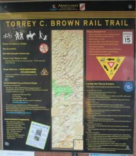 Kiosk-sign-Torrey-C-Brown-Rail-Trail-MD-10-4-2016