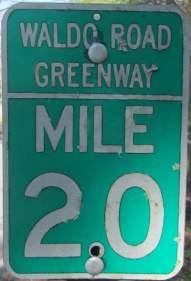 Mile-2.0-sign-Waldo-Road-Greenway-Gainesville-FL-02-18-2016