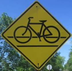 Bike-symbol-sign-Prairie-Spirit-Trail-Ottawa-to-Iola-KS-6-3-2016