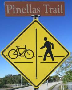Bicycle-ped-symbol-sign-Pinellas-Rail-Trail-FL-1-25-2016