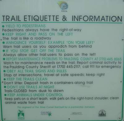 Etiquette-sign-Silver-Comet-Trail-GA-5-11-to-14-2015