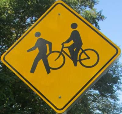 Bike-ped-symbol-sign-Torrey-C-Brown-Rail-Trail-MD-10-4-2016